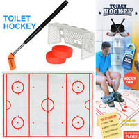 Christmas Toilet Hockey Game Decompression Funny Game Ice-hockey Kids Toy