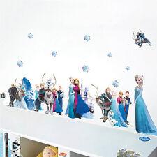 Removable DIY FROZEN Elsa & Anna Wall Stickers Decal Art Decor Children's Room