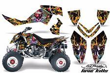 AMR Racing Decal Sticker Quad Graphic Sticker Kit Polaris Outlaw 500/525 LVE KLS