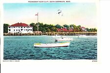 South Dartmouth, MA   Padanaram Yacht Club 1930s