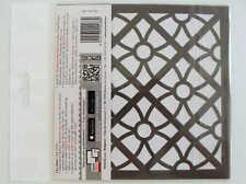 Pochoir Déco style Carreau Ciment mod22 tous supports 15x15cm Artemio Home Deco