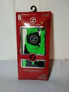 Zero Friction Compression-Fit Technology Molds to Junior Left Green Golf Glove