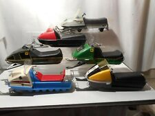 6 Toy Snowmobile Battery Operated Collection
