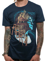 OFFICIAL August Burns Red Housefire T Shirt Mens Blue Small
