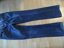 SEVEN FOR ALL MANKIND coole Bootcut Jeans Bügelfalten Gr. 30 TOP  BSu216