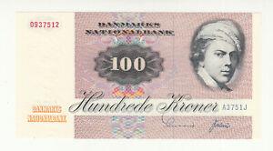 Denmark 100 kroner 1975 UNC @ low start