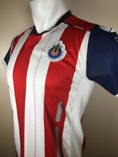 Chivas de Guadalajara Mexican Soccer Team Jersey Youth Xl / Mens Small