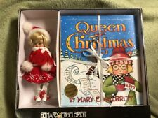 "Mary Engelbreit Queen Of Christmas 8"" Doll Tonner Ann Estelle W Book Paper Doll"
