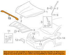 TOYOTA OEM 06-12 RAV4 Hood-Protector PT42742060