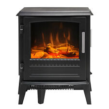 Dimplex 2000W 55cm Bari Electric Mini Stove Optiflame Portable Fireplace Heater