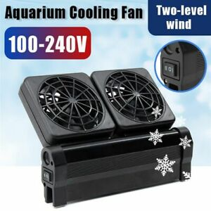 Cold Wind Cooling Fan Temperature Controller Water Chiller Fish Tank Cooler