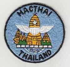 Wartime Thai Made MAC THAI Patch, Advisor Insignia