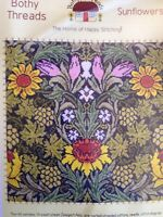 Bothy Threads William Morris Sunflowers counted cross stitch kit sealed