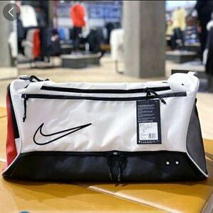 Nike Elite Basketball Duffel Bag BA6163-100 RED BLACK WHITE NEW NWT AIR NEW NWT