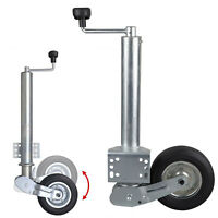 Stützrad Automatik 400 kg Traglast Anhänger Wohnwagen Automatik-Stützrad Bugrad
