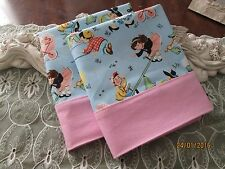 COUNTRY COTTAGE KIDS SET OF TWO PLAYFUL CHILDREN  IN THE PARK PILLOWCASES - NEW