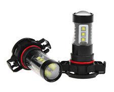 2x 6000K  White 80W CREE 5202 H16 LED Daytime Running DRL Fog Lights Bulbs Lamps
