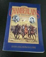 THE CHAMBERLAINS OF BREWER - CIVIL WAR Diana Halderman Loski PAPERBACK BOOK