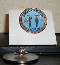 HM Armed Forces Royal Air Force Veteran lapel pin badge .