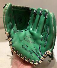 Vintage Green Spalding Baseball Glove