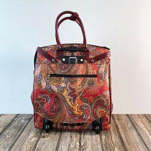 Women's Travel Rolling Weekender Duffle Bag