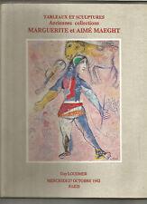 COLLECTION MARGUERITE ET AIME MAEGHT SALE Kandinsky Leger Chagall De La Fresnaye