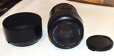 Minolta Maxxum AF 80-200mm f/4.5-5.6 Xi Zoom Lens For Minolta w/Hood