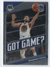 19-20 Mosaic #9 Stephen Curry Insert - Got Game Warriors