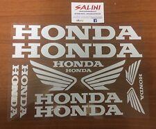 Serie adesivi Honda Scritta - Sticker Honda Bianco