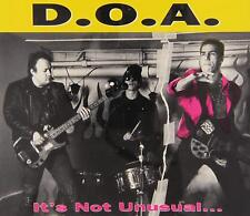 It's Not Unusual... But It Sure Is Ugly! [EP] [PA] by D.O.A. (CD, Aug-1993, Alte