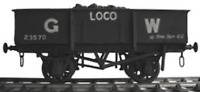 Cambrian C2 OO Gauge GWR 10t Loco Coal Wagon Kit