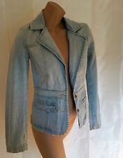 Jeansjacke Jeansblazer Jacke Blazer blau Gr. 36 von H&M            .           D