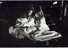 Photo Claude Alexandre - JANE, LOU et CHARLOTTE - Tirage baryté 1980 -