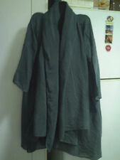 Cotton Blend Unbranded Solid Plus Size Coats & Jackets for Women