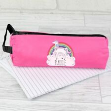 Personalised Pink Unicorn Pencil Case - Back to School