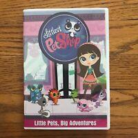 Littlest Pet Shop: Little Pets, Big Adventures DVD New Sealed