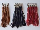 Genuine handmade leather tassel