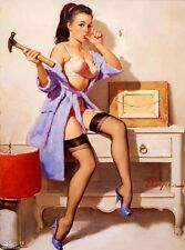 "01 Elvgren Hammer Retro Pinup Girl QUALITY PRINT Poster Decor Vintage 24X32"""