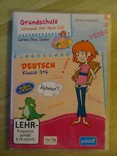 Grundschule ? Lernspaß mit Hexe Lilli (Deutsch Klasse 3 + 4) CD-Rom WIN-MAC