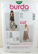 Burda Pattern 7070 - Skirt - Sz. 8 10 12 14 16 18 20 - NEW!