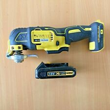 Dewalt DCS355N 18v XR Brushless oscillating multi tool + Battery 1.3Ah