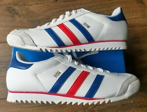 Men's Adidas Rom Originals Trainers in UK 7 in Red / White / Blue.