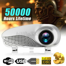 3D Full HD 1080P Mini Projector LED Multimedia Home Theater USB VGA HDMI     AU
