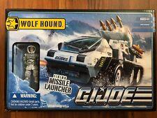 G.I. Joe Bravo Vehicle With Figure - Wolf Hound With Whiteout V1