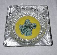 CREATURE FROM THE BLACK LAGOON GLASS ASHTRAY