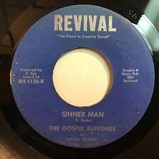 The Gospel Supremes: Sinner Man / Sweet 45 - Revival - Gospel Soul - Hear It