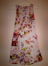 Floral Summer Dress -Cut out Back- Sz 10, Lucy in the Sky, Boutique