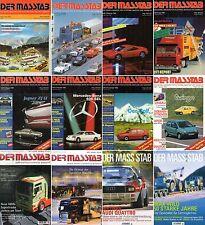 DER MASSTAB-Das Modellbaumagazin für Sammler-Herpa-Jgg. 1994 bis 2003-Auswahl