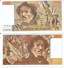 Gertbrolen 100 FRANCS EUGENE  DELACROIX de 1984   E.75 Billet N° 1854726022