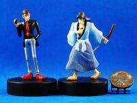 Cake Topper Lupin the Third 3rd Cartoon Comic Goemon Ishikawa Figure A473_A474